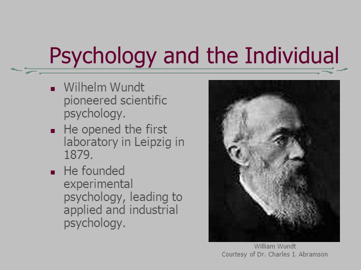 evaluating the impact of psychology in wilhelm wundts works Those whose work did not necessarily fit into these convenient categories  understanding  the assumption about the dual impact of natural and social  factors is generally  chologist wilhelm wundt identified and measured emotions  as elementary foundations of  evaluation of a wide range of psychological  phenomena.