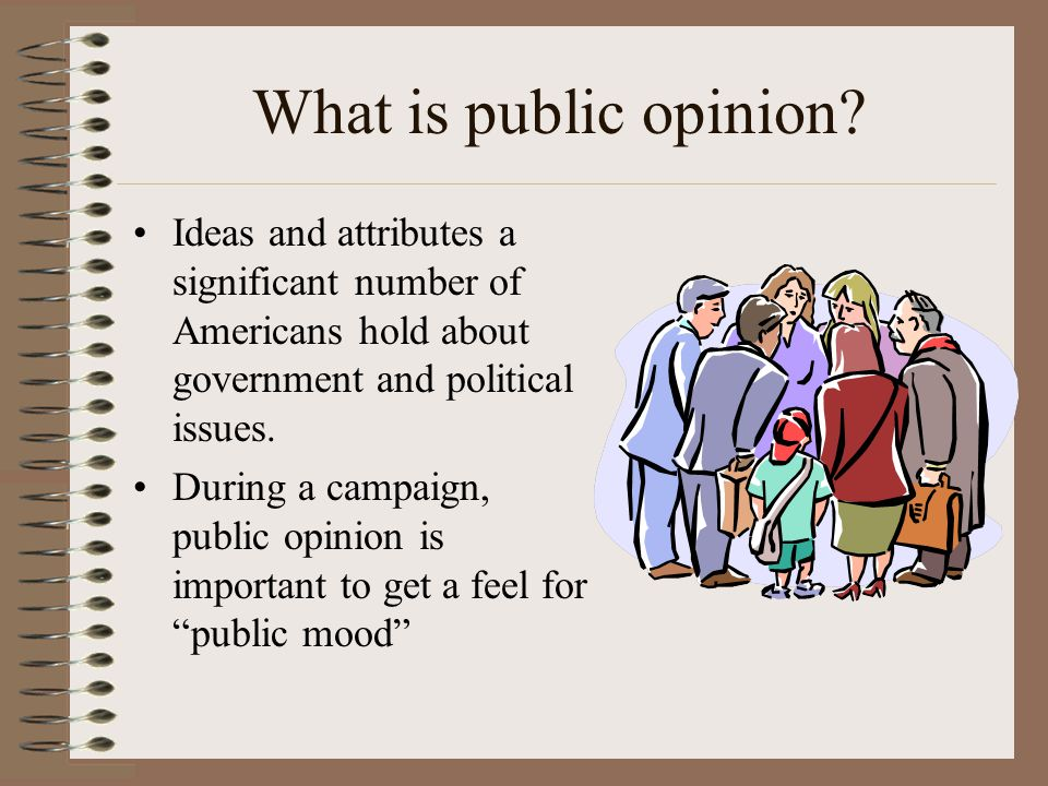 Issues about politics and government