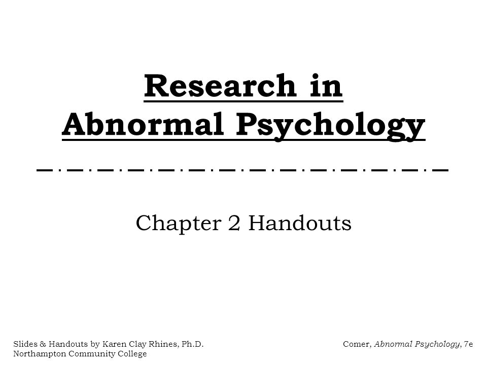 normal and abnormal psychology essay View and download abnormal psychology essays examples also discover topics, titles, outlines, thesis statements, and conclusions for your abnormal psychology essay.