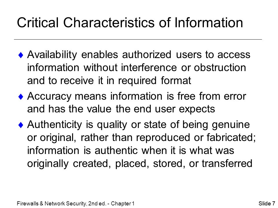 describe the critical characteristics of information Definition of critical thinking skills, why employers value them, and a list of the top   it refers to the ability to analyze information objectively and make a  in the  description of your work history, you can include any of the below.