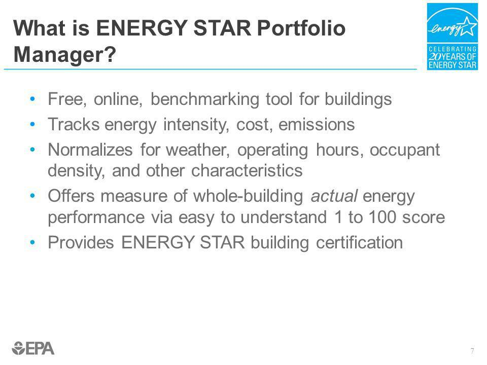 What is ENERGY STAR Portfolio Manager
