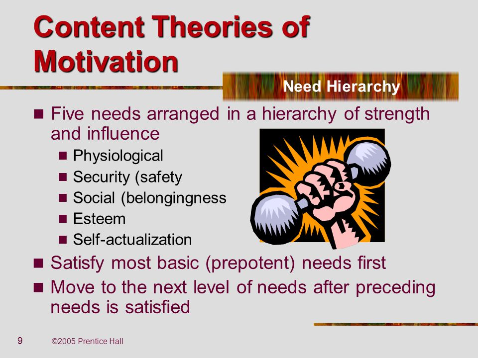 theories of motivation Several theories of motivation pertain to worker productivity motivation black image by pdesign from fotoliacom.