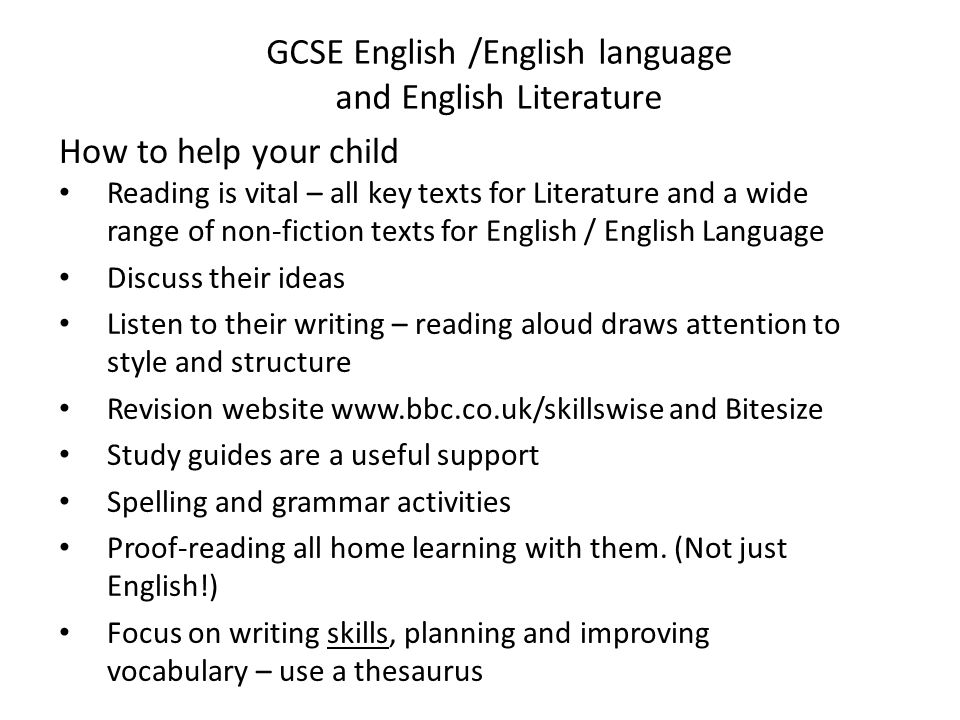 english literature gcse coursework help Exam board content from bbc bitesize for students in england, northern ireland or wales choose the exam specification that matches the one you study.