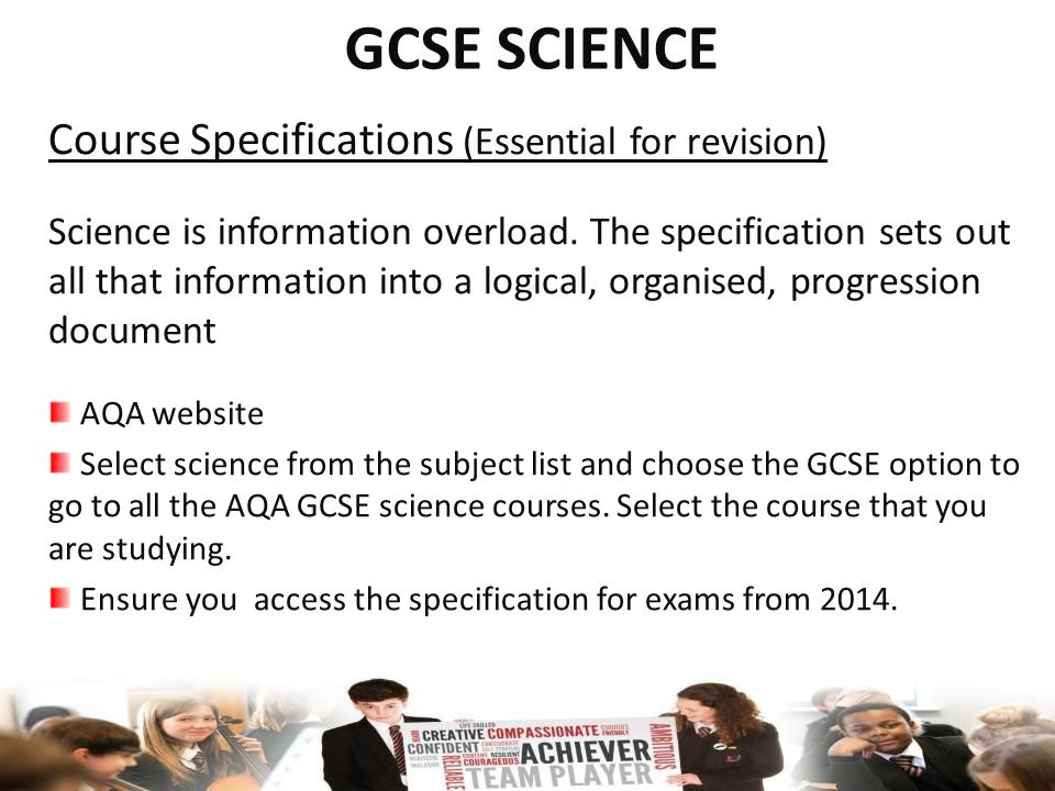 Revised GCSE Chemistry and Physics