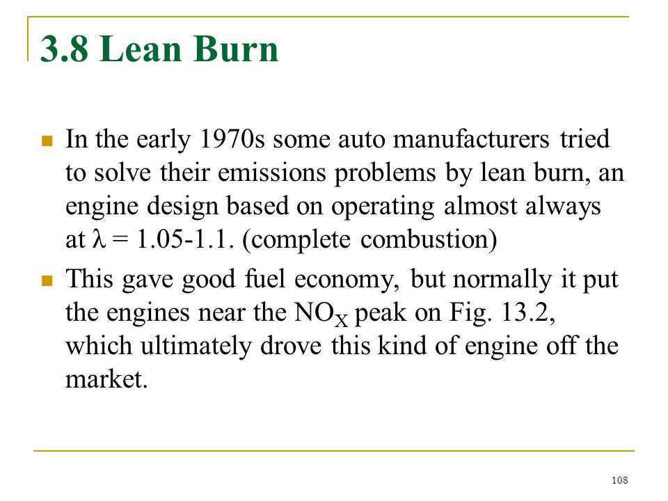 3.8 Lean Burn