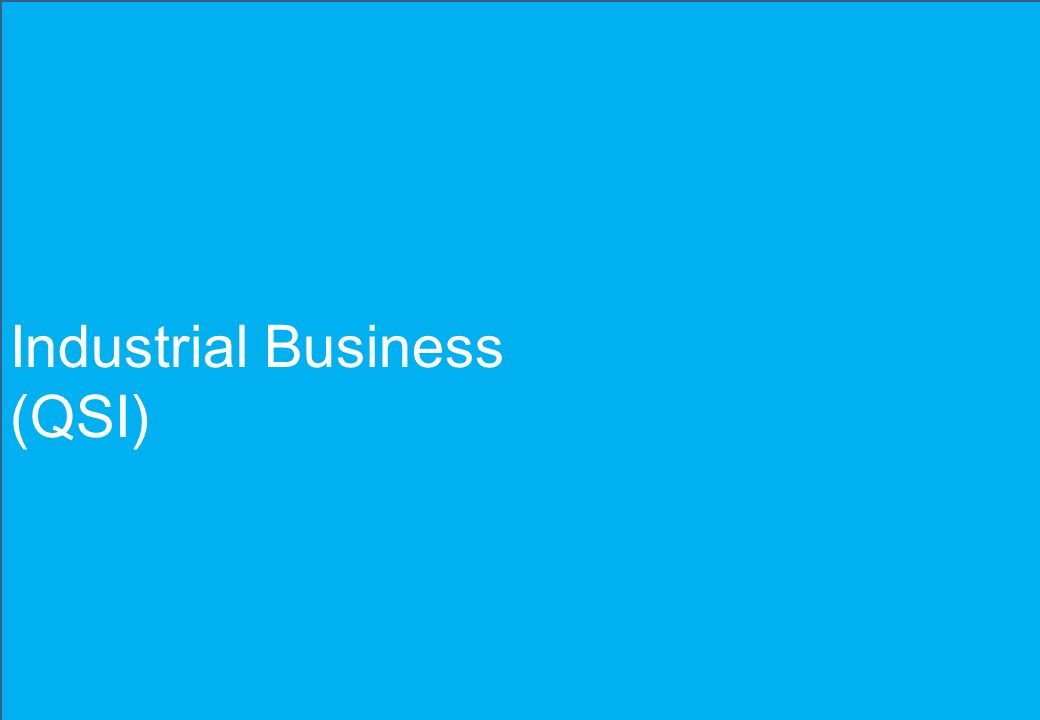 Industrial Business (QSI)