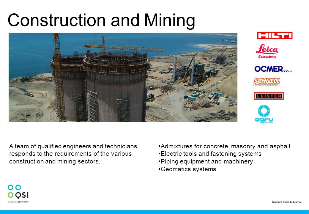 Construction and Mining