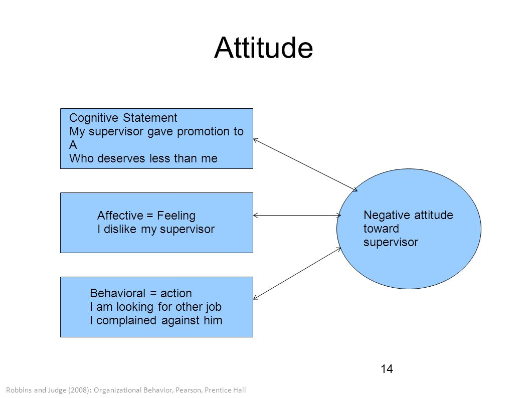 attitudes organizational behavior Organizational behavior are vitally interested in the nature of the attitudes of their employees toward their jobs, toward their careers and toward the organization itself employee attitudes which are.