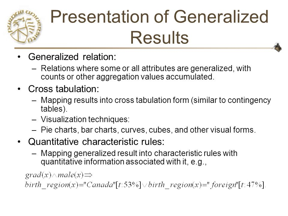 CS490D: Introduction to Data Mining Chris Clifton - ppt download