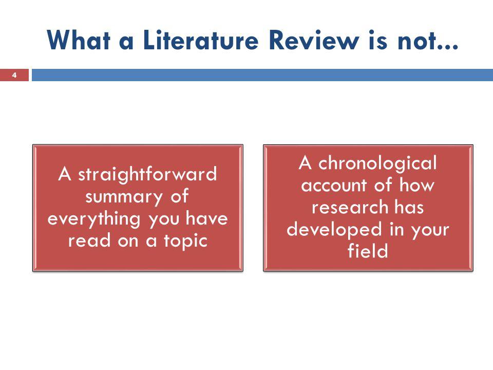 literature review data analysis
