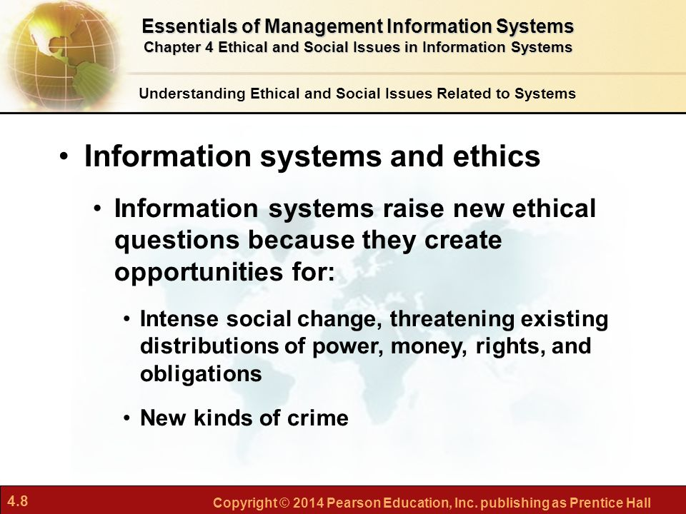 describe the ethical issues a business To be accurate, culture is one of the factors that affect business ethics the   orientation that can be described in terms of these six questions knowing the.
