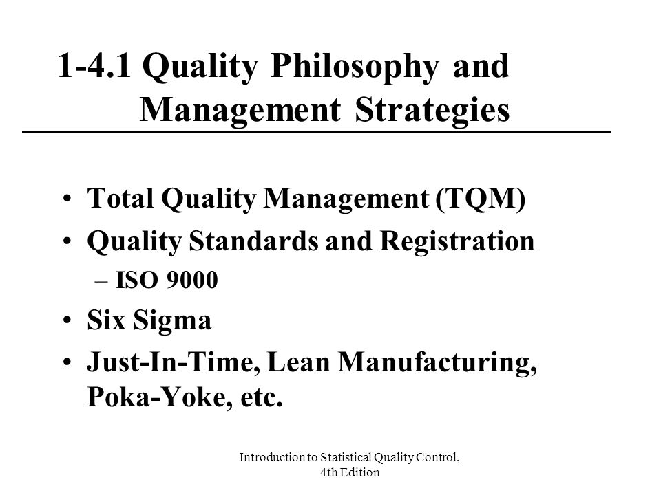 critical managerial skills with total quality Leadership vs management a business excellence / performance management view  professor in total quality  of the business and allow them to focus on critical.