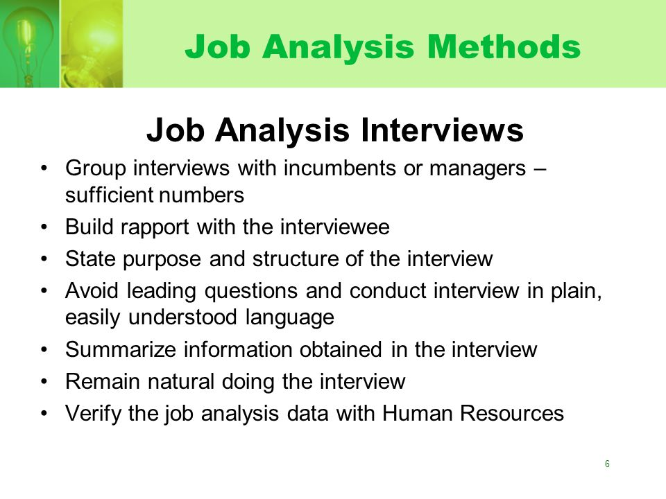 Job Analysis In Hr Selection  Ppt Video Online Download