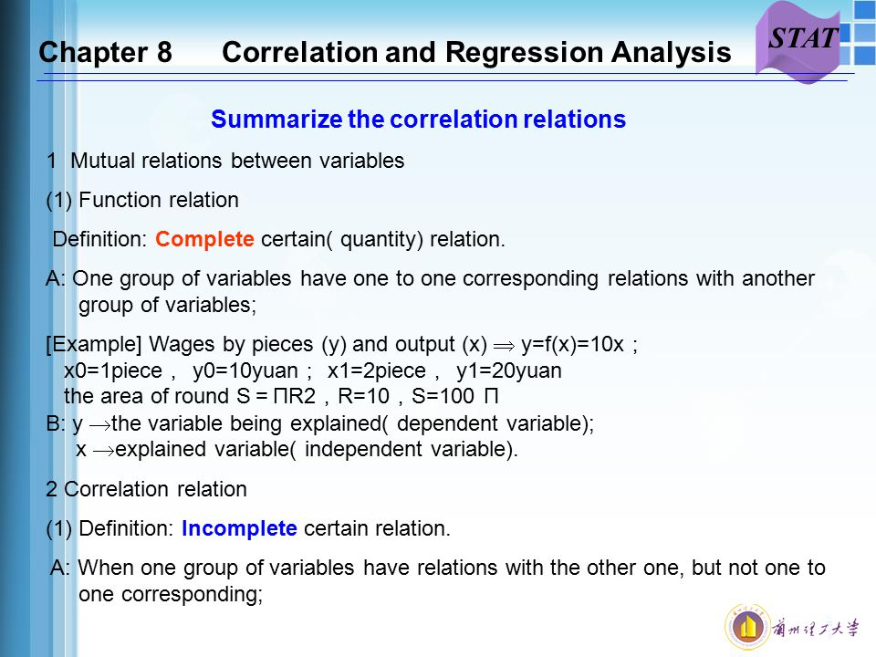 correlation regression analysis and data This example teaches you how to perform a regression analysis in excel and  how to interpret the summary output below you can find our data the big.