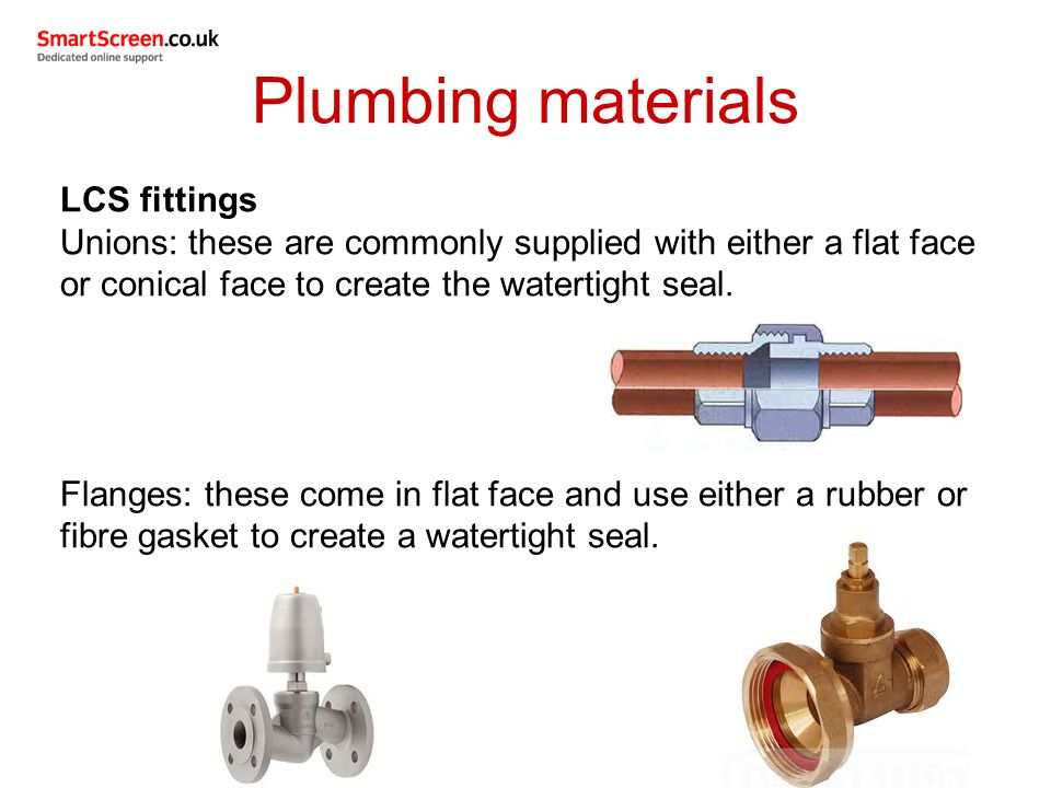 Unit 204: Common plumbing processes - ppt video online download
