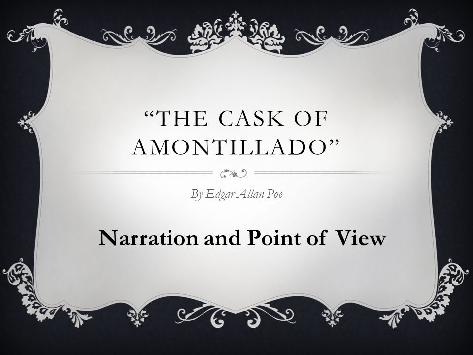 the black cat and the cask of amontillado comparison The amontillado and the black cat the cask of amontillado annotated bibliography wordpress planet the amontillado and the black cat a comparison of.