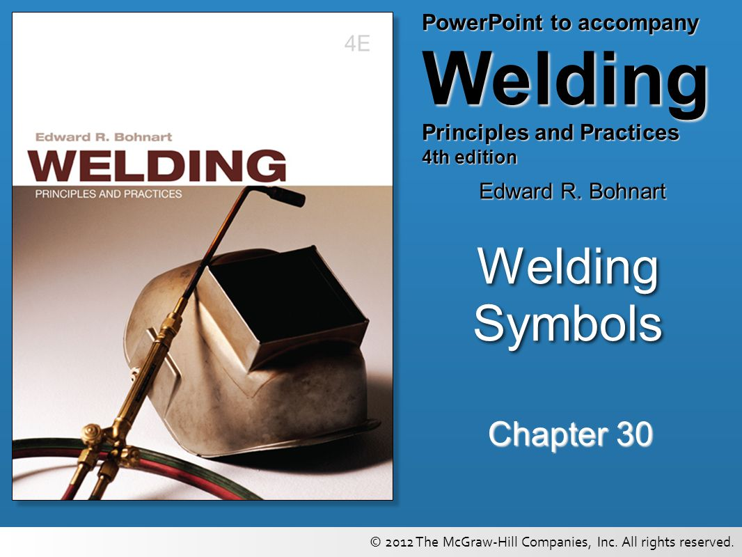 Welding symbols chapter ppt video online download 1 welding symbols chapter 30 biocorpaavc Images