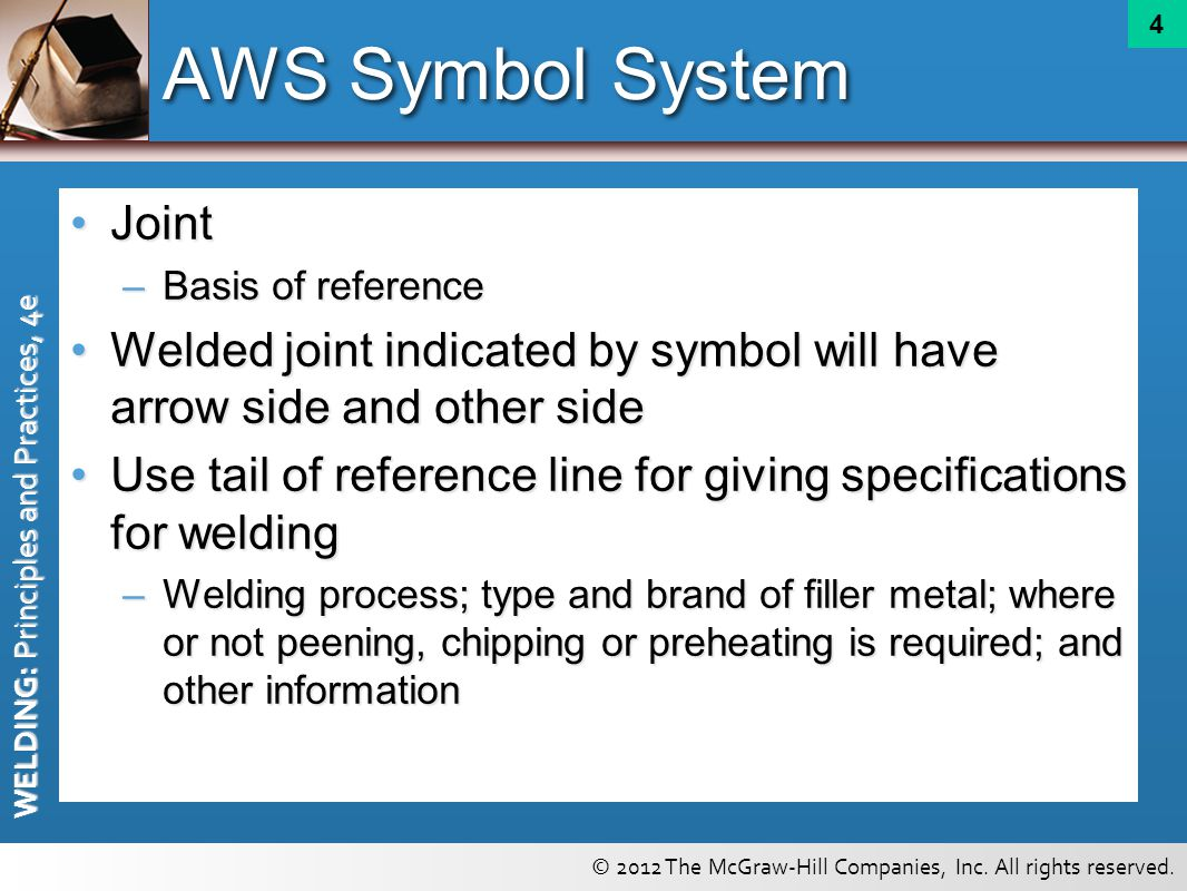 Welding symbols chapter ppt video online download aws symbol system joint buycottarizona Image collections