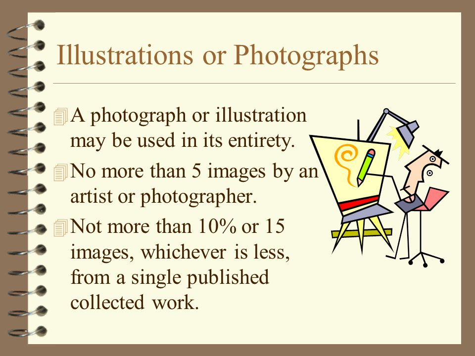 Illustrations or Photographs