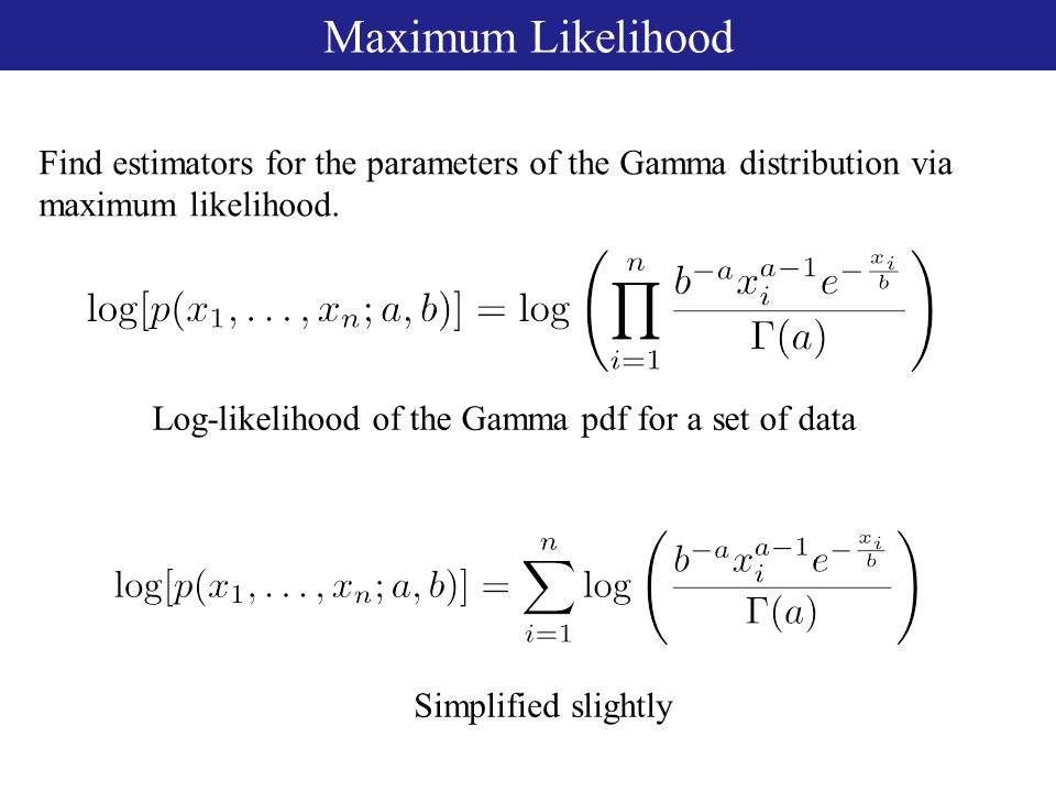 pdf of gamma distribution matlab