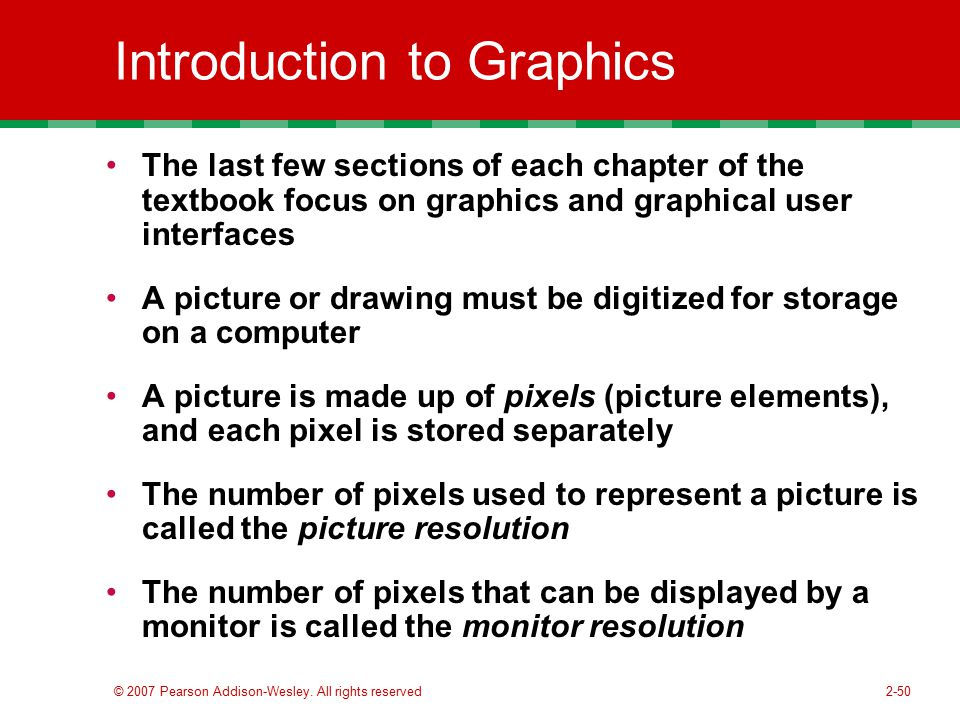 Introduction to Graphics