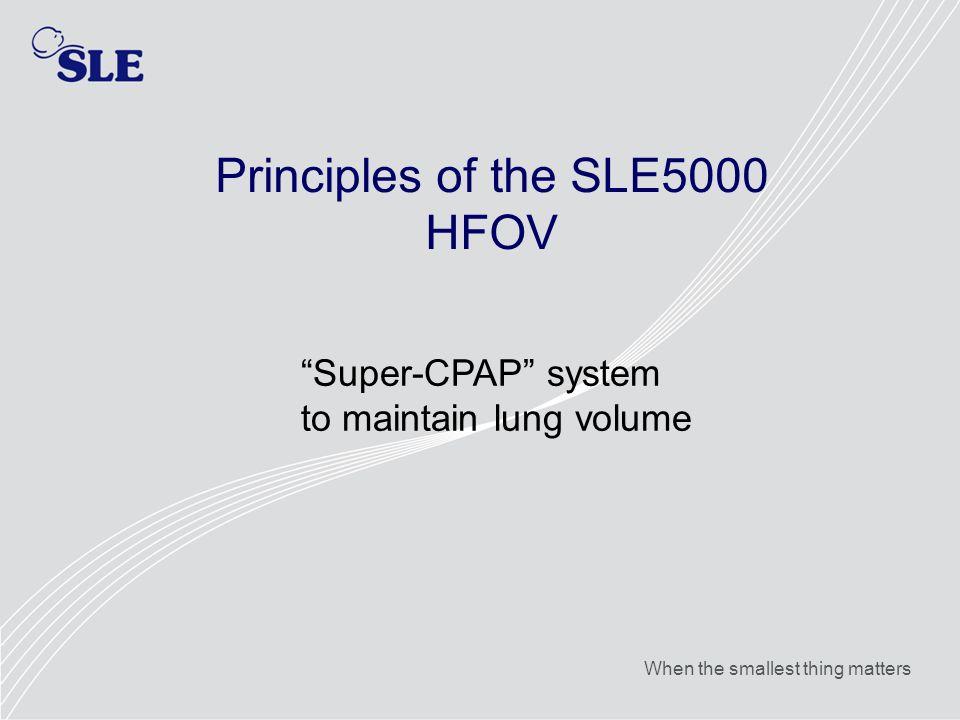 Principles of the SLE5000 HFOV