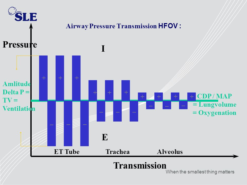 Airway Pressure Transmission HFOV :