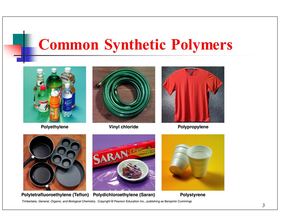 Common Synthetic Polymers