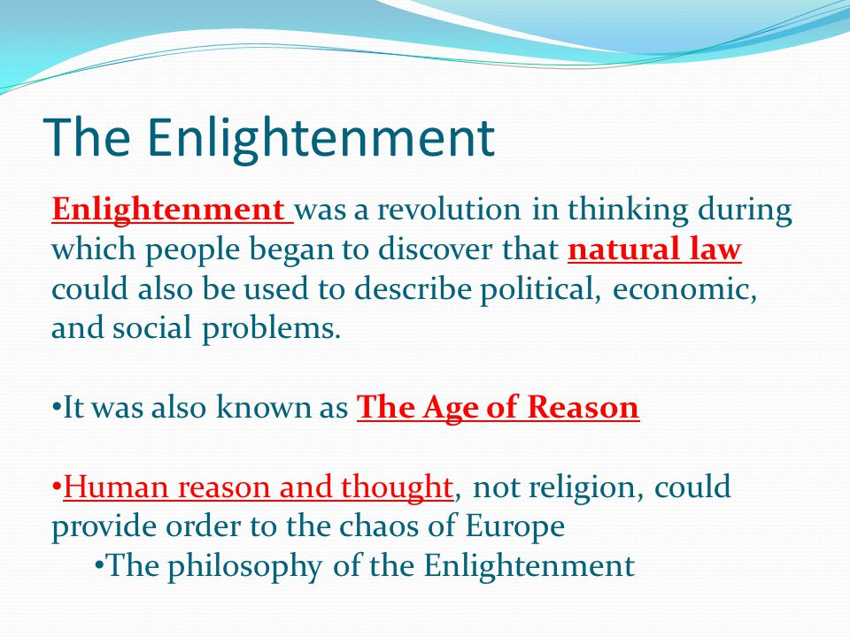 The Enlightenment And French Revolution - ppt video online download