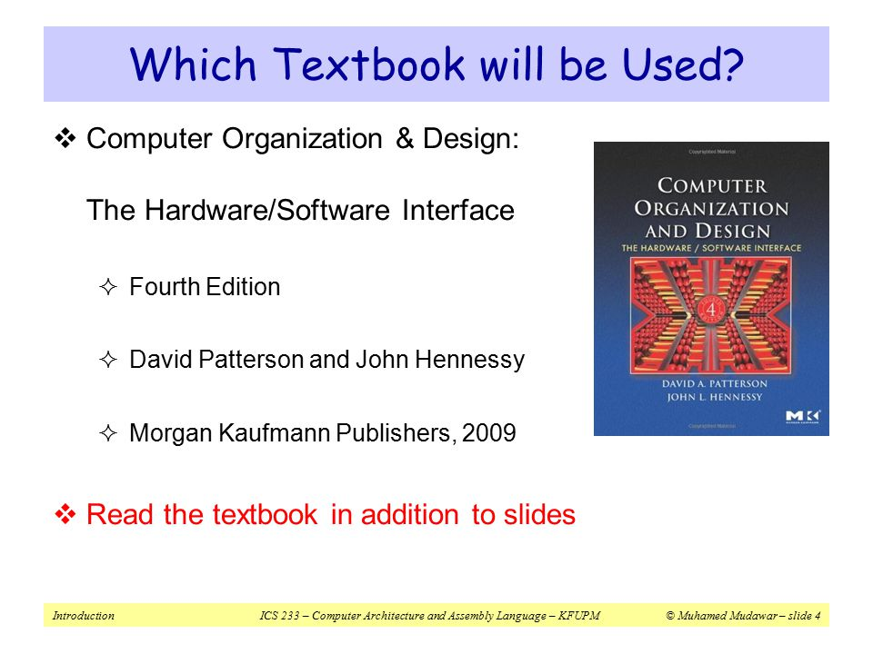 Computer Organization And Design Fourth Edition Download