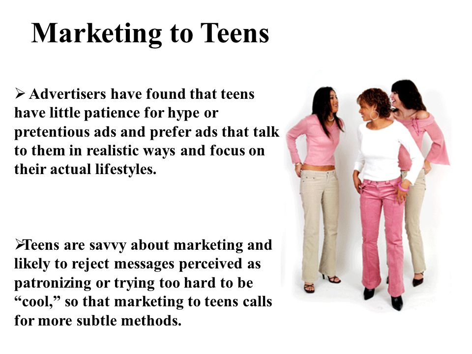 Marketing To Teens 99