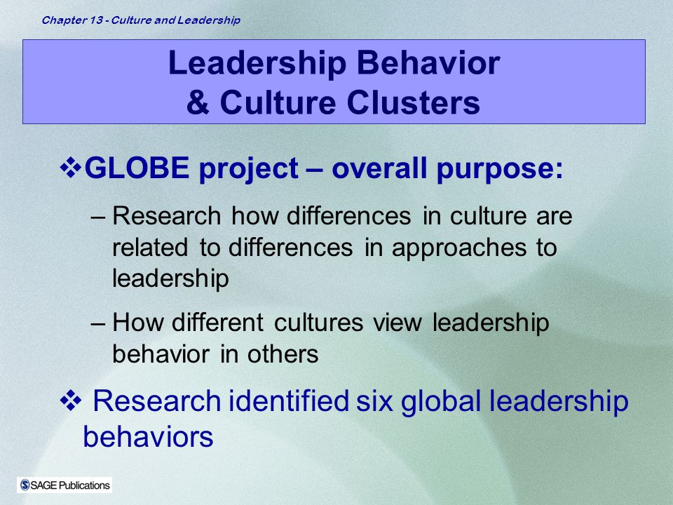 Cultural differences in leadership