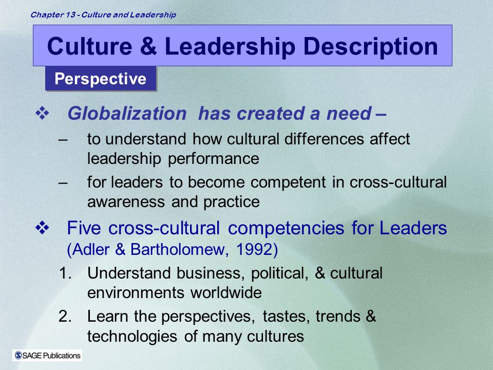Cultural Differences in Leadership Styles