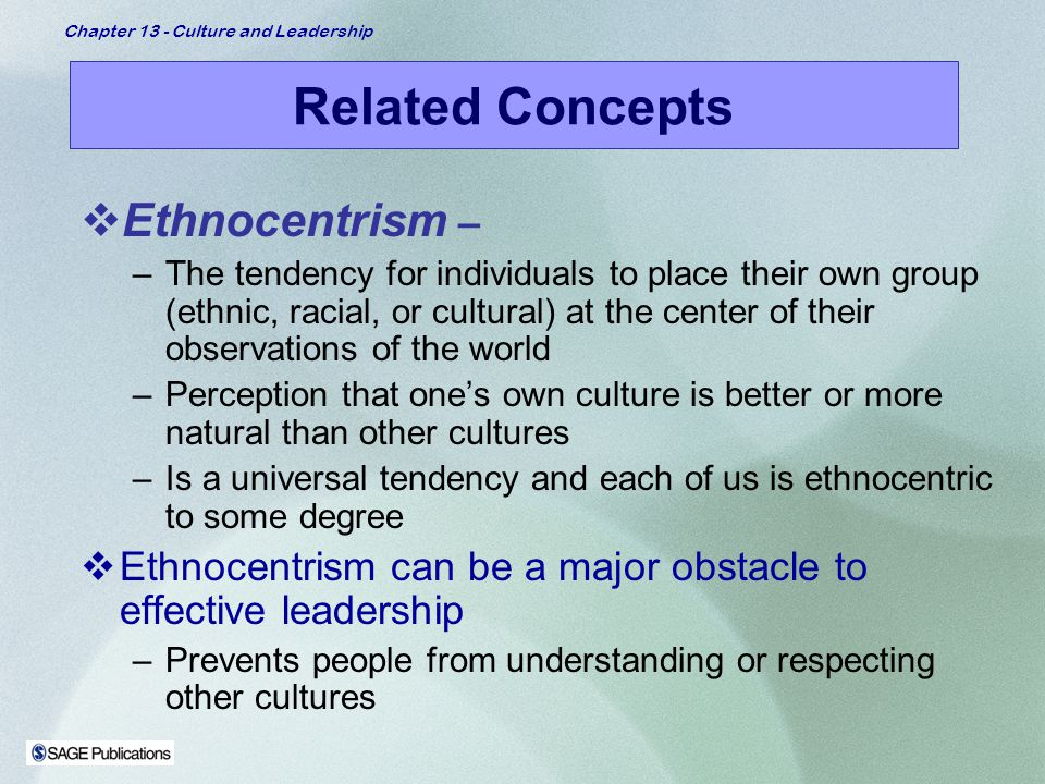 ethnocentrism individualistic cultures Differences between collective and individualistic (warm and cool) cultures,  different communication styles, and ethnocentrism--the tendency.
