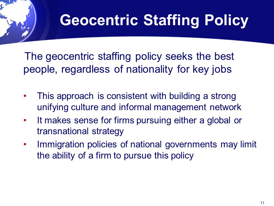 staffing policies Integrity staffing solutions:  it is integrity staffing's policy never to knowingly collect or maintain information about anyone under the age of 13 .