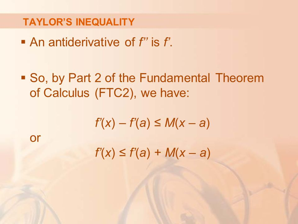 An antiderivative of f'' is f'.