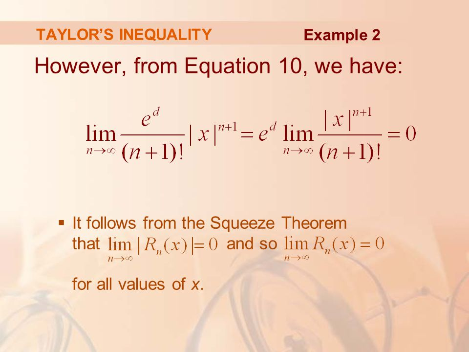 However, from Equation 10, we have: