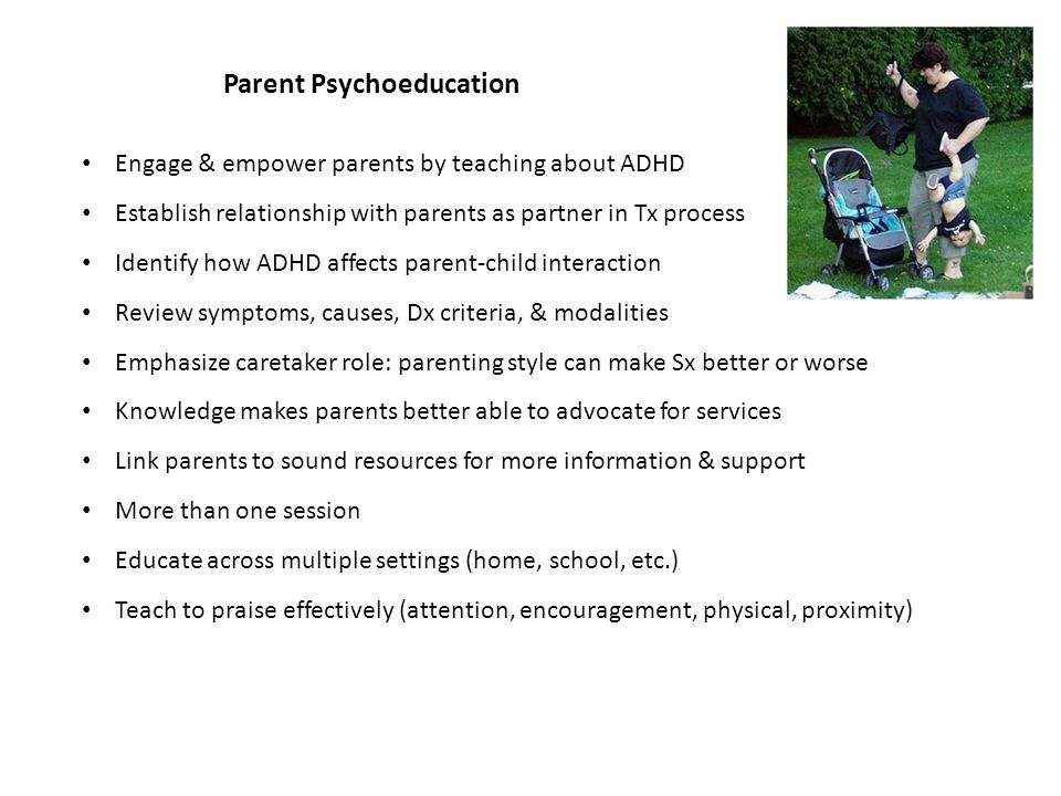 Treatment for Children with ADHD
