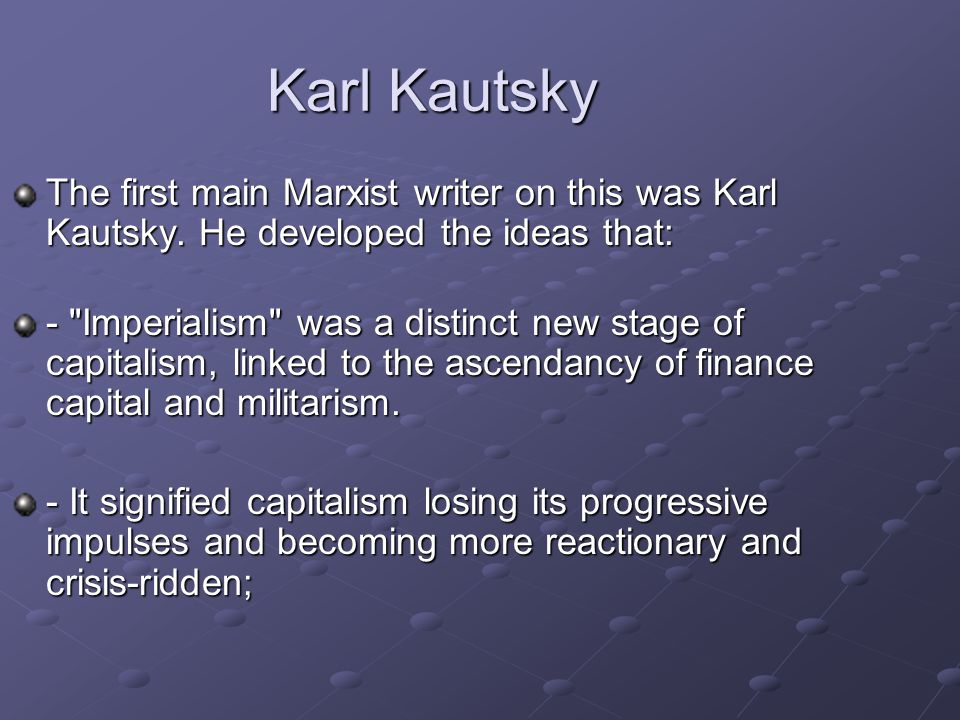 the crisis of capitalism that marx Understand the capitalism system from its movement, as marx  usually defines  economic crisis, in tradition of marx and hilferding, as a.