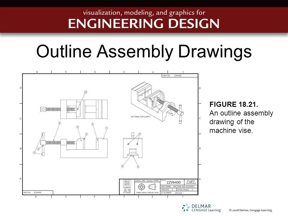 Chapter 18 working drawings ppt video online download outline assembly drawings ccuart Image collections
