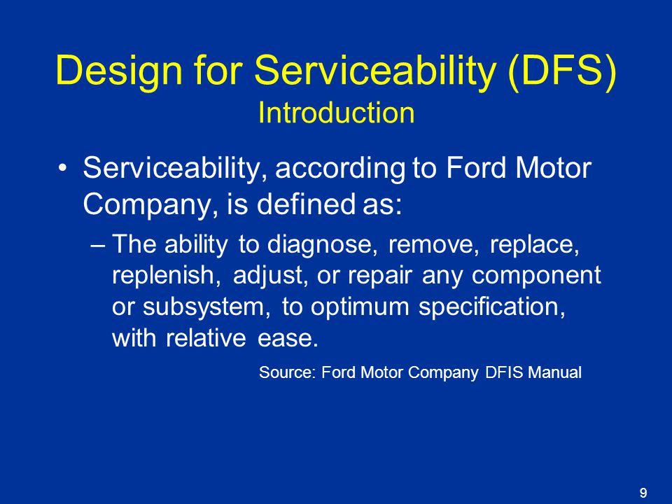 mpd 575 design for serviceability ppt download