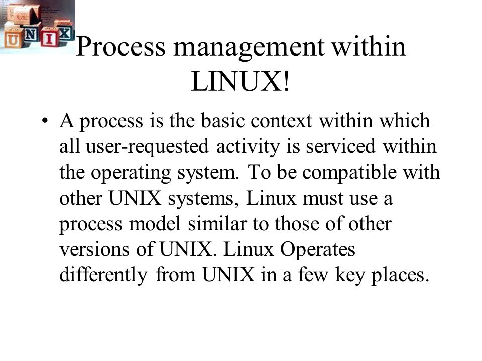 process management in linux Linux process management is an essential task for each and every linux administrator all the above tools allows you to manage system resources efficiently you can dig deep by using all the options available with each command.