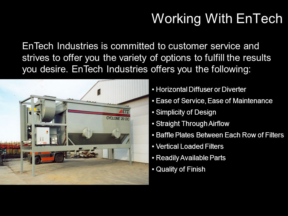 Working With EnTech