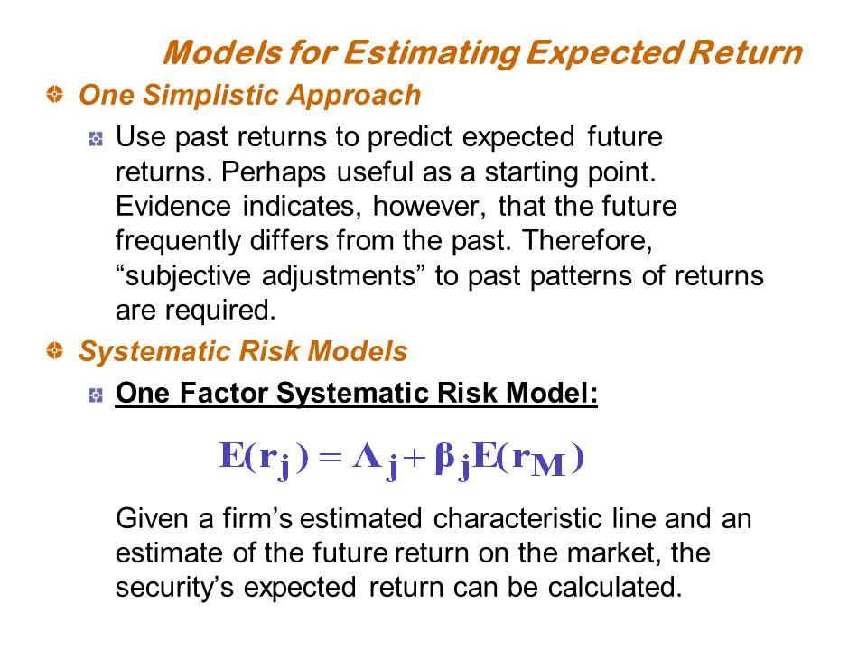 estimating risk and return View u04a2-estimatingriskandreturndocx from bus 3062 at capella university running head: u04a2 - estimating risk and return 1 u04a2 .