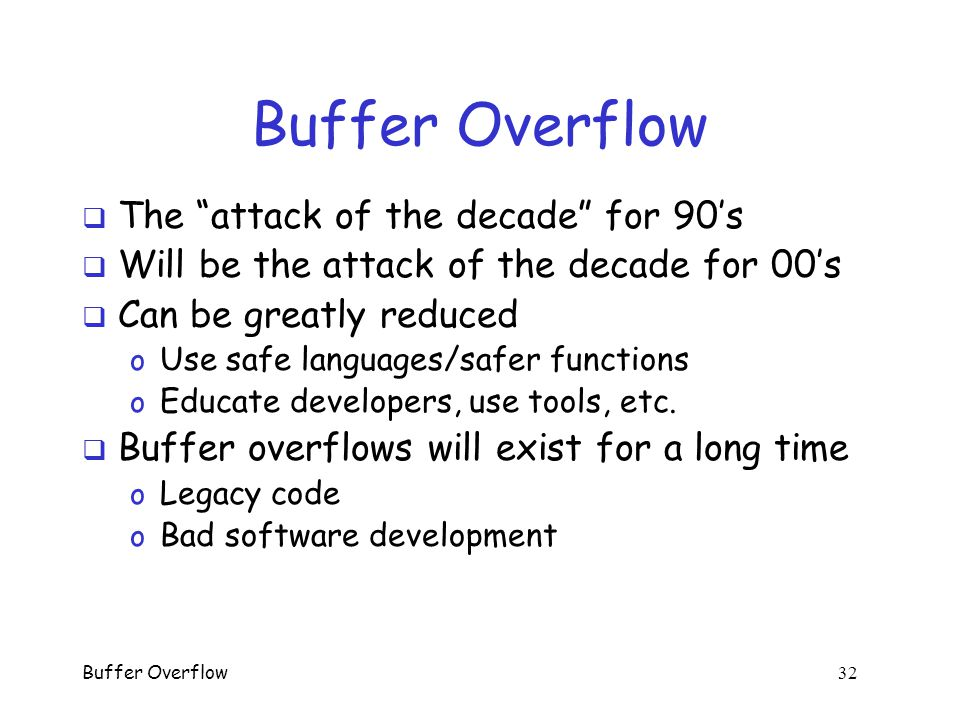how to fix the command buffer overflow