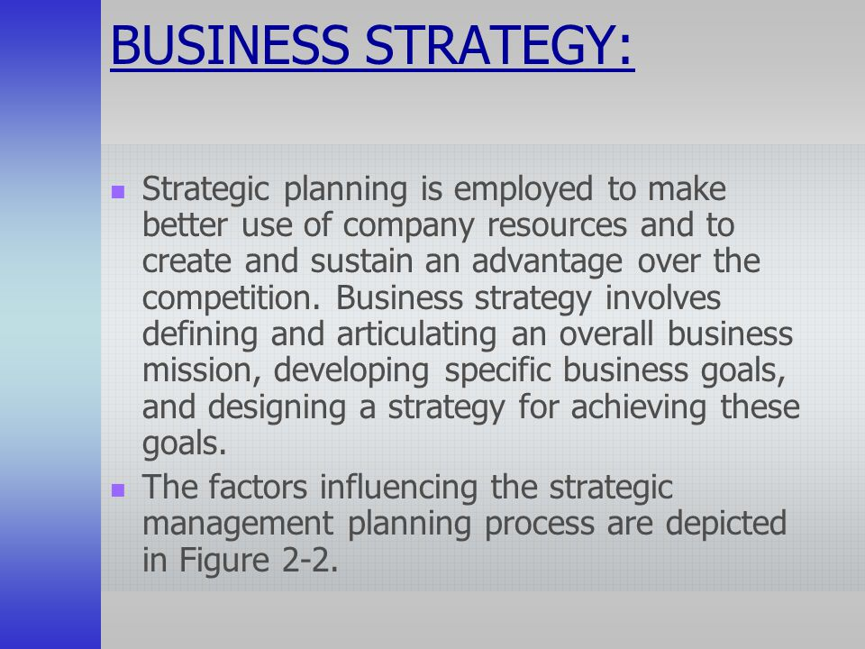 the business management procedures in the modern companys goals Strategic human resource management (shrm) is, indeed, one of the most  of  the company's strategies through hr activities such as recruiting, selecting,  training and  therefore, the primary goal of strategic hr is to increase  employee  human resource planning (hrp) is a process of analyzing and  identifying the.