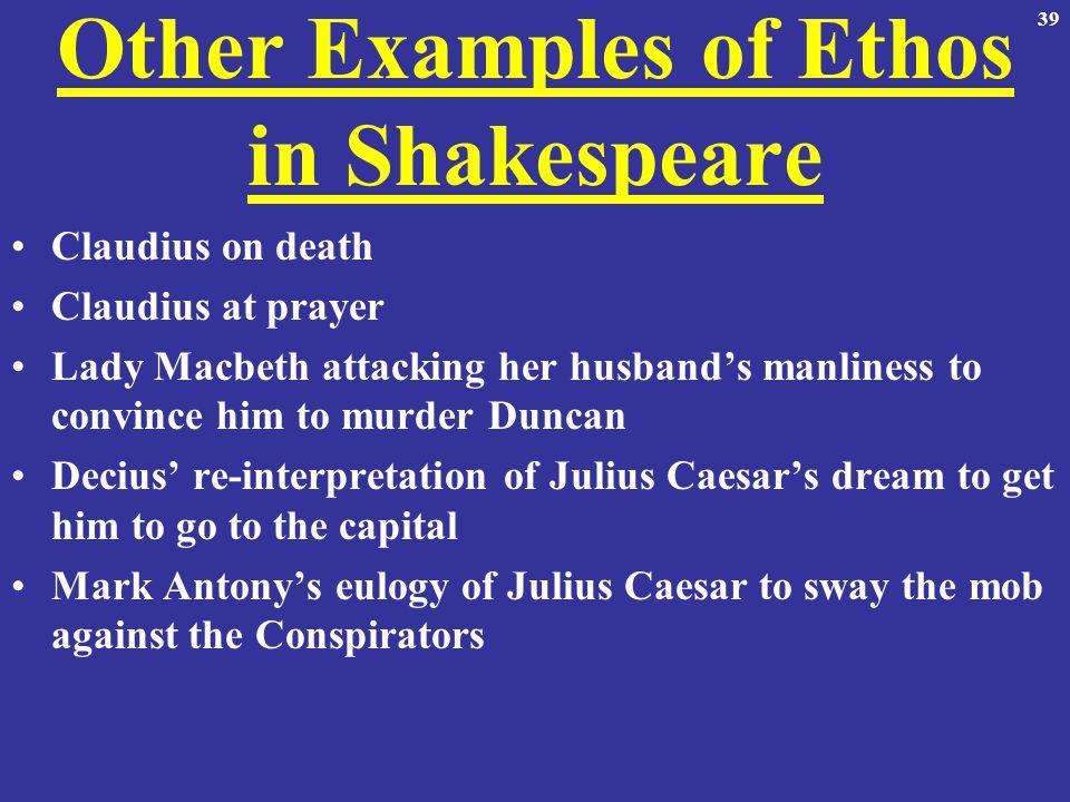 ethos with macbeth Macbeth argumentative essay shakespeare's macbeth,  consider the nature of your appeals (ethos, pathos, logos.