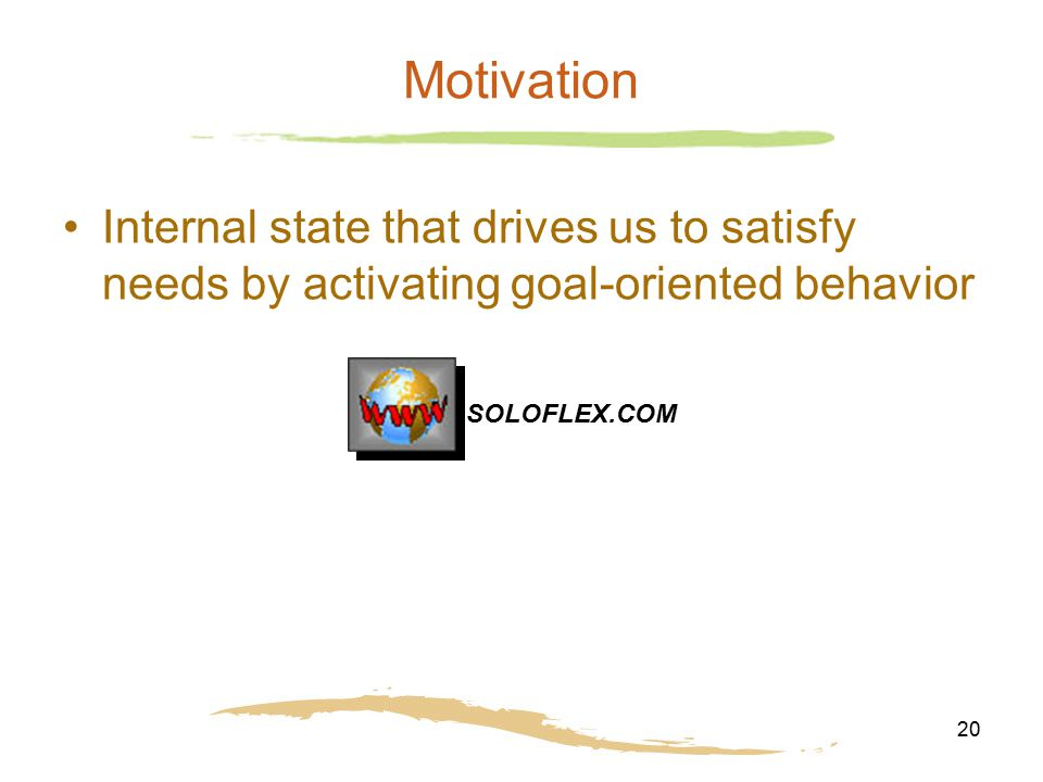 goal oriented personality Nice question as your question itself differentiates between the twoprocess and goal actually, a goal is achieved through a process only, isn't it let me take an example here to.