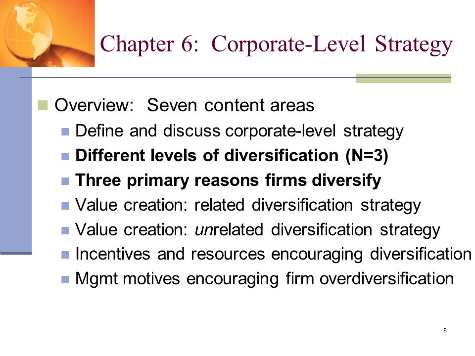 Related diversification strategy definition