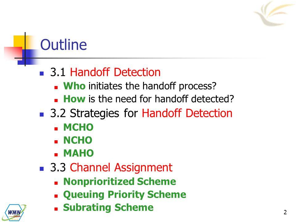 Handoff Management Radio Link Transfer - ppt video online download